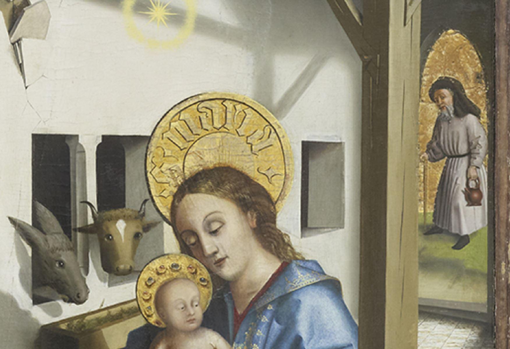 Konrad Witz Adoration des Mages Musee des BA Geneve detail Joseph
