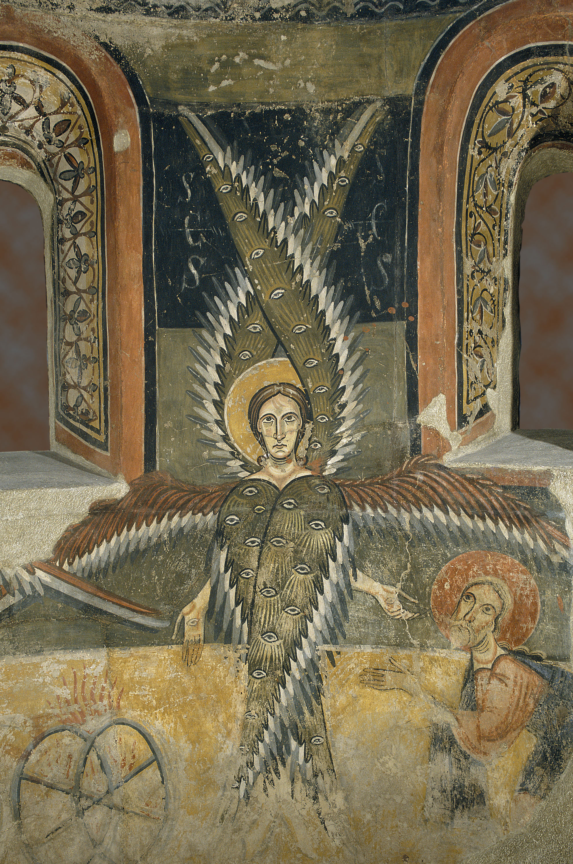 La vocation D iSaie Fresque Saanta Maria d'Aneu XIeme