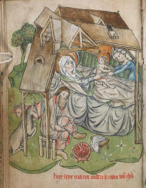 Nativite Book of Hours, Dutch 1410-1420, Folio MS 500005 British Library 22v