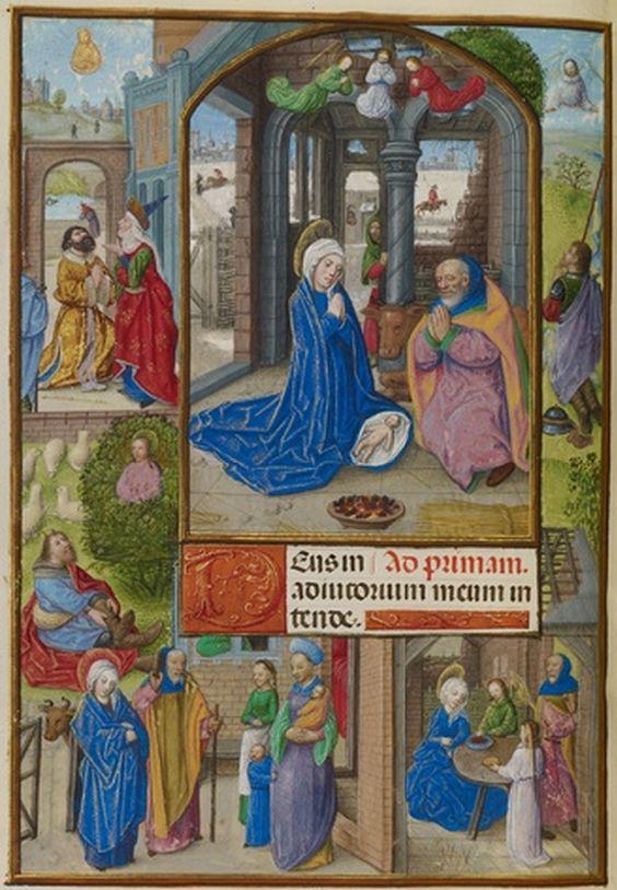 Nativite, Master of the Dresden Prayer Book, 1510-20