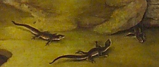 Patinir Saint Christophe Escorial detail