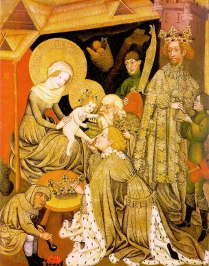 The Adoration of the Magi c. 1420 Hessisches Landesmuseum, Darmstadt