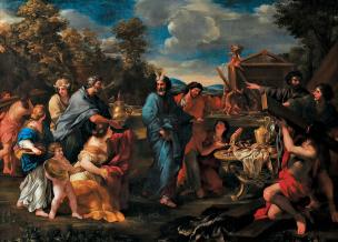 La construction du tabernacle Romanelli1632-34 Provincia di Torino