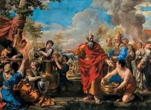 La recolte de la Manne Pietro da Cortona 1632-34 Provincia di Torino