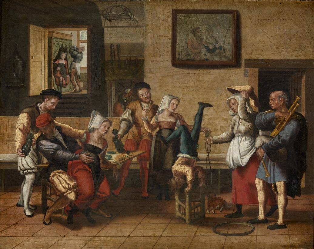 Aertsen-ou-Jan-Van-Amstel-ou-Monogrammist-Musee-royal-des-beaux-arts-dAnvers