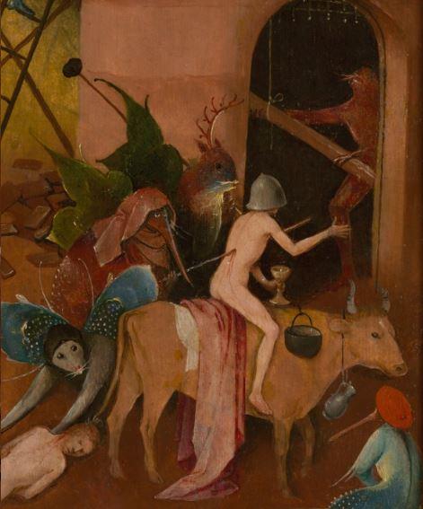 Bosch Le chariot de foin volet droit detail