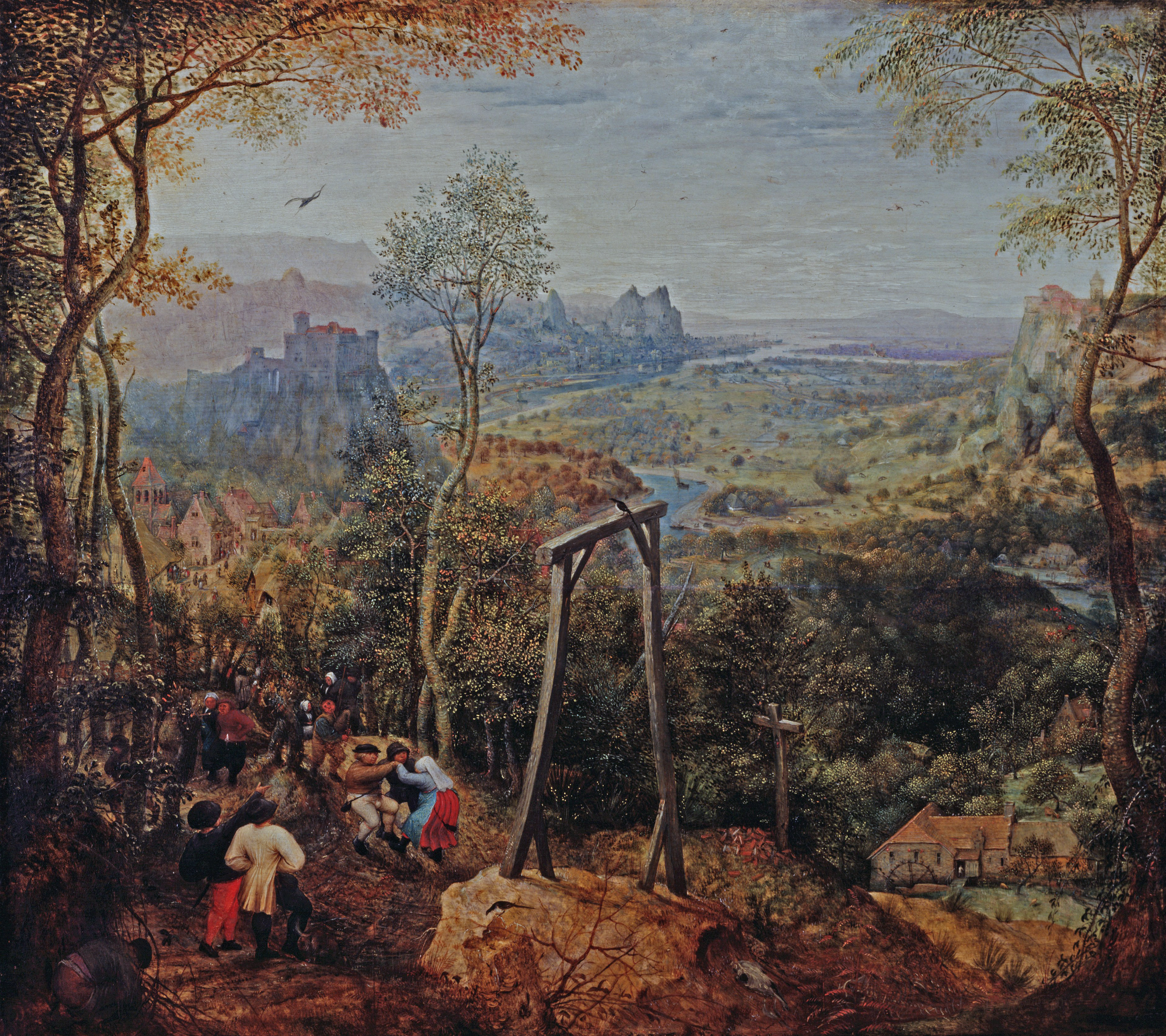 The Magpie on the Gallows, by Pieter Brueghel the Elder