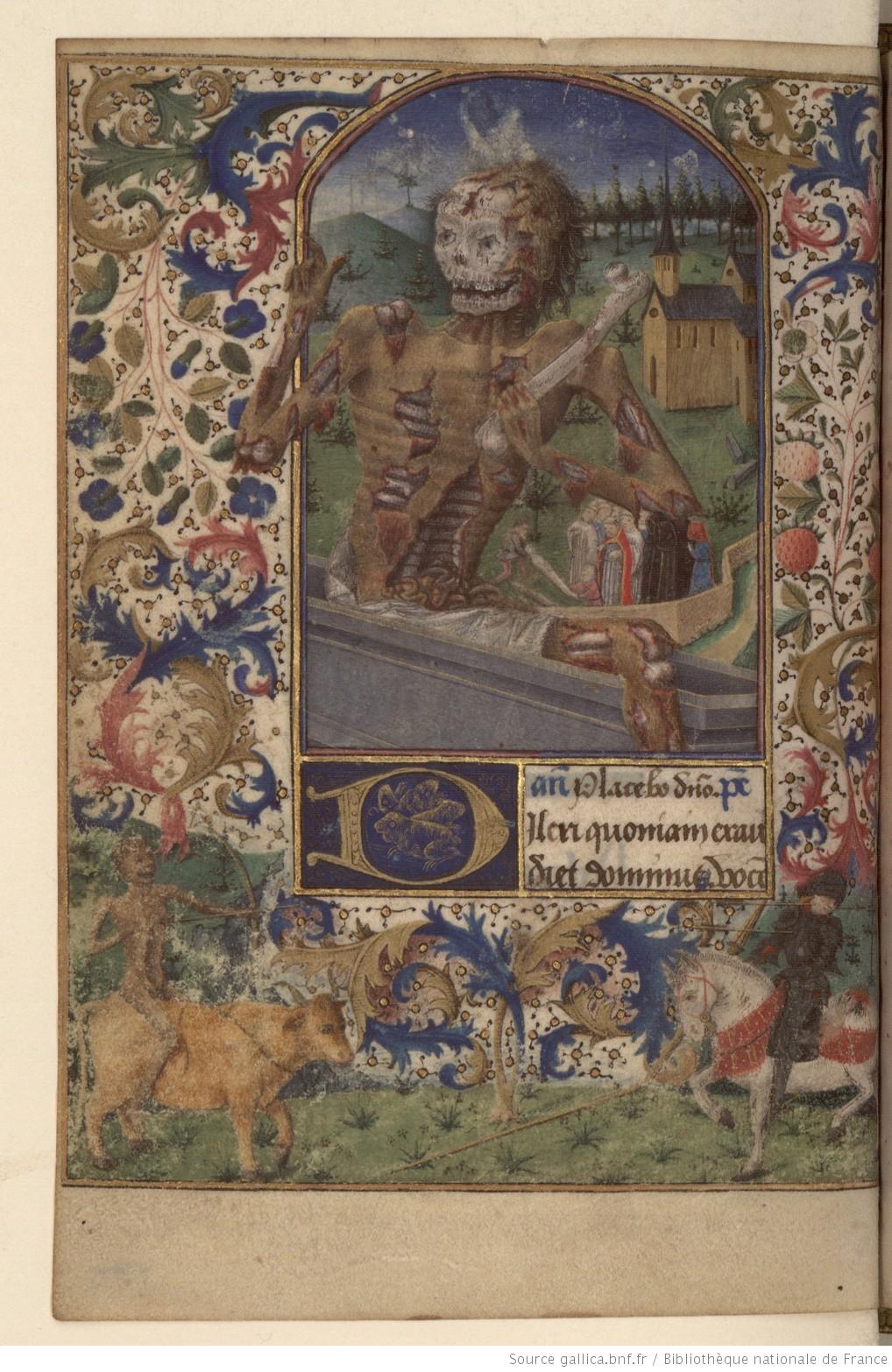 Horae_ad_usum_Pictaviensem_BERNARDUS_CLARAEVALLENSIS_1460 BNF Paris (ms.lat. 3191, folio lOOv)