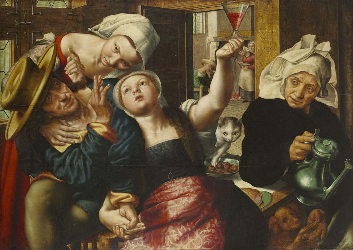 Jan_Sanders_van_Hemessen 1543 Wadsworth Atheneum Museum of Art