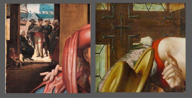 Titre Jan_Sanders_van_Hemessen 1543 Wadsworth Atheneum Museum of Art coin haut gauche L