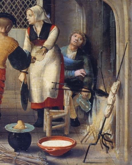 Monogrammiste de Brunswick Brothel Scene 1540 – 1550 Stadel Museum Francfort gaufres