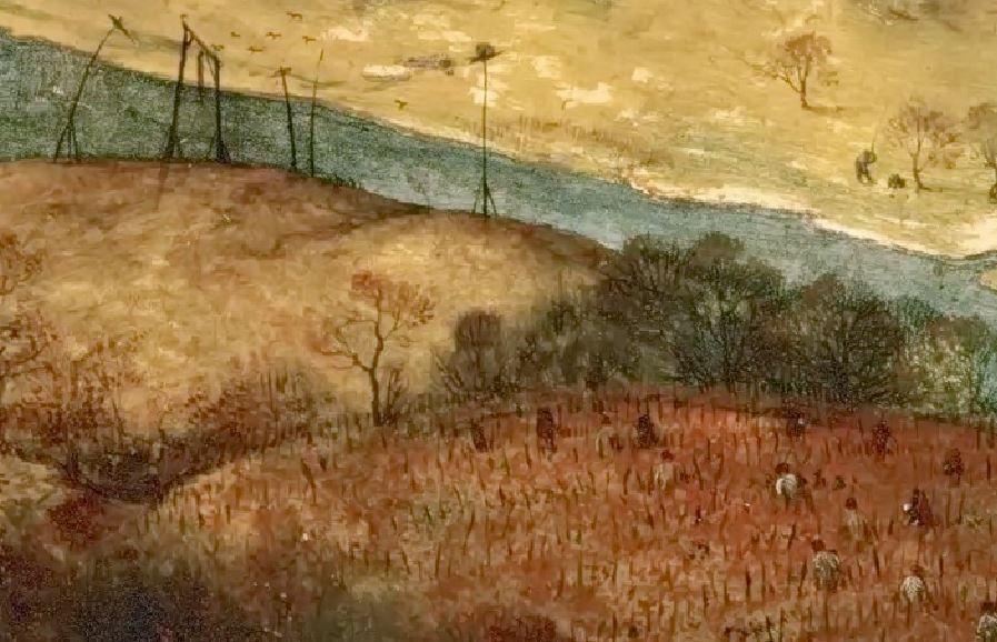 Pieter_Bruegel_(I)_-_The_Return_of_the_Herd_(1565) gibet