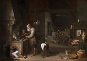 David-Teniers-II-the-alchemist-1649-Philadelphia-Museum-of-Art