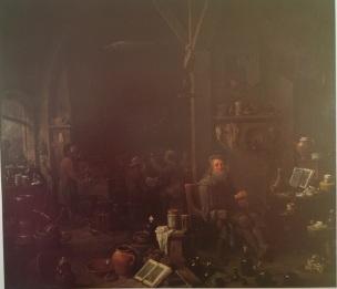 David_Teniers_the_Younger_-_The_Alchemist_in_his_Laboratory Coll privee Duc Devonshire