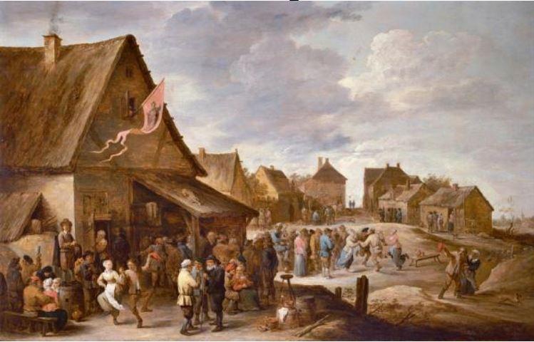Fete de village David Teniers II vers 1650 Museum Rockoxhuis