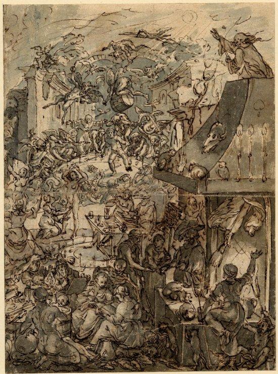 Frans Francken le Jeune, Un sabbat de sorcières. Bristish Museum