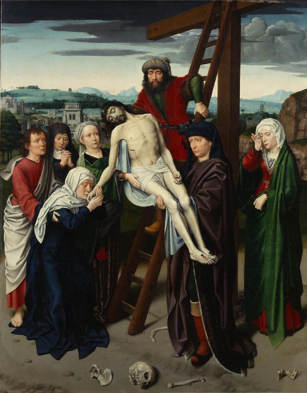 Gerard_David_-_Deposition 1495-1500 Frick Collection New York