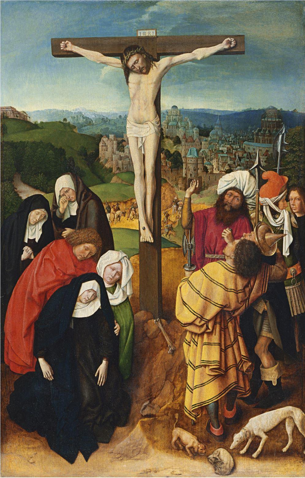 Gerard_David_Crucifixion 1475 ca Thyssen Bornemisza