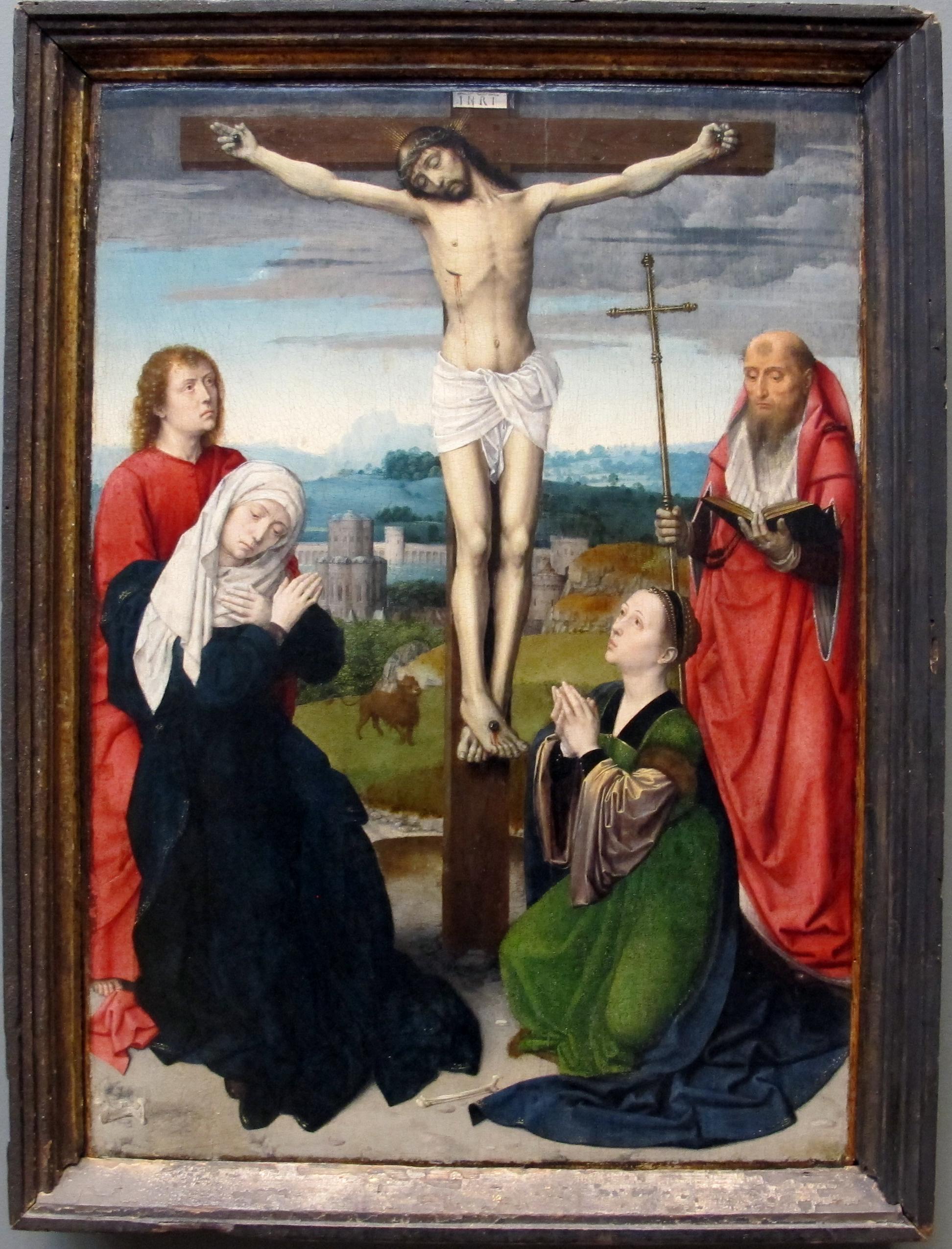 Gerard_david,_crocifissione, 1495_ca MET