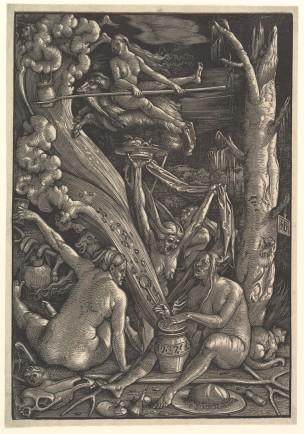 Hans_Baldung_Grien 1510 Sabbat de sorcieres Germanisches Nationalmuseum Nuremberg