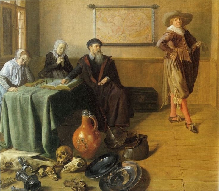 Jan Miense Molenaer 1631-32 The Departure of the Prodigal Son Coll privee