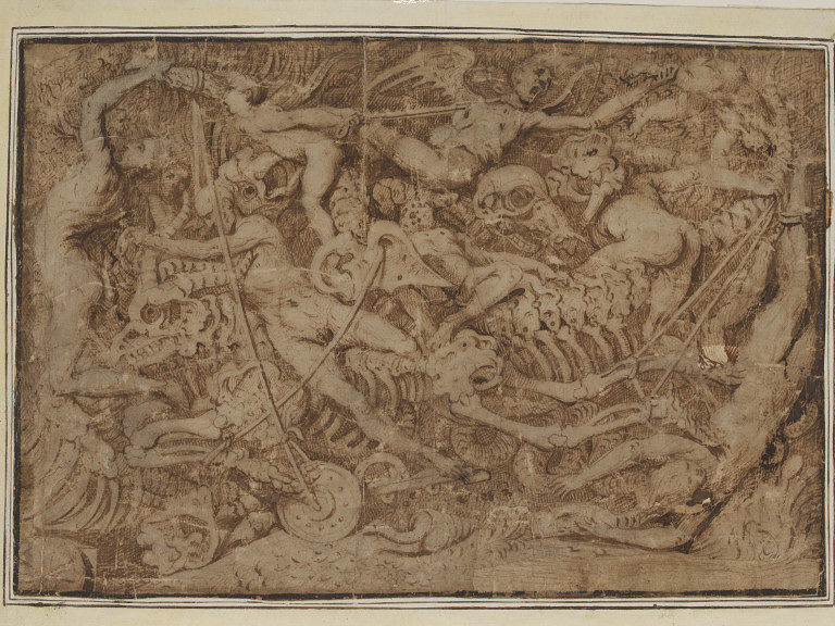 Master-of-the-Victoria-and-Albert-Museum-Diableries-dessin-Victoria-and-Albert-Museum