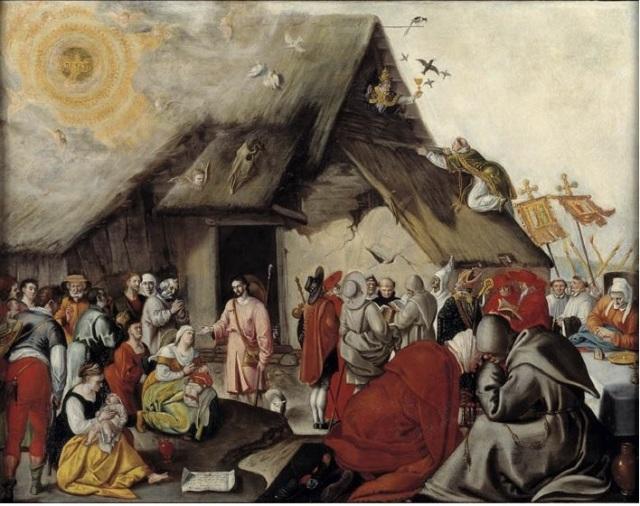 Parabole du Bon Pasteur Nord des Pays - Bas,1581 Catharijneconvent Utrecht