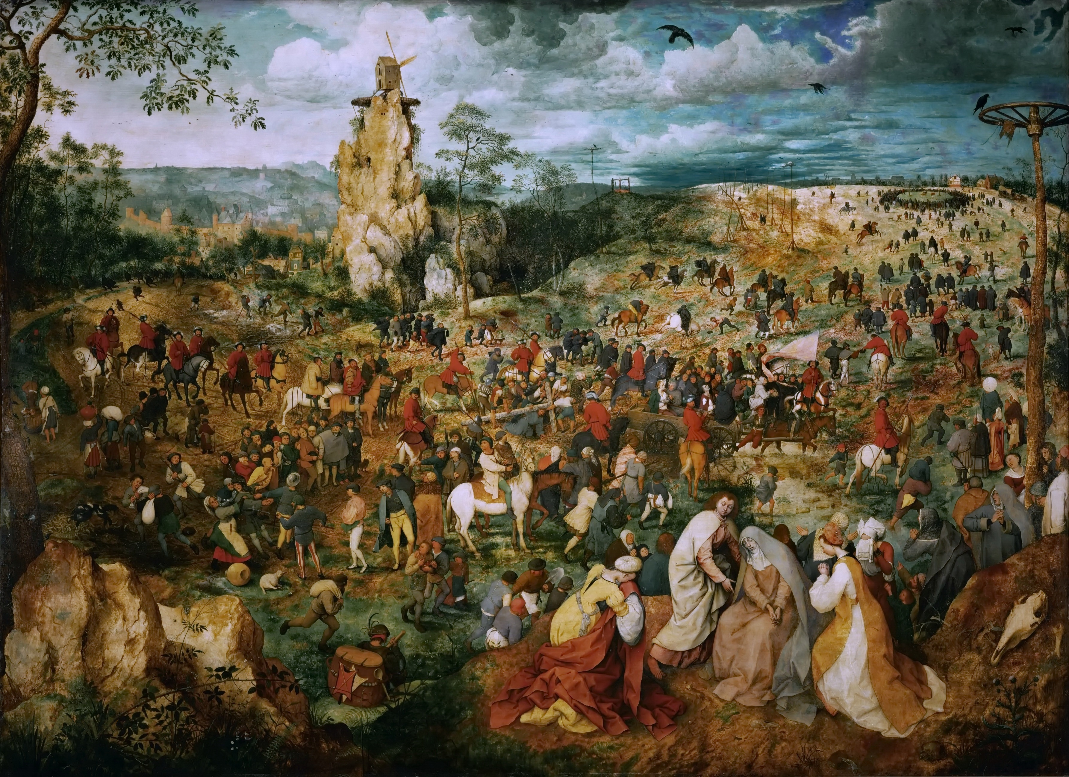 Pieter_Bruegel_(I)_-_The_Procession_to_Calvary_(1564)