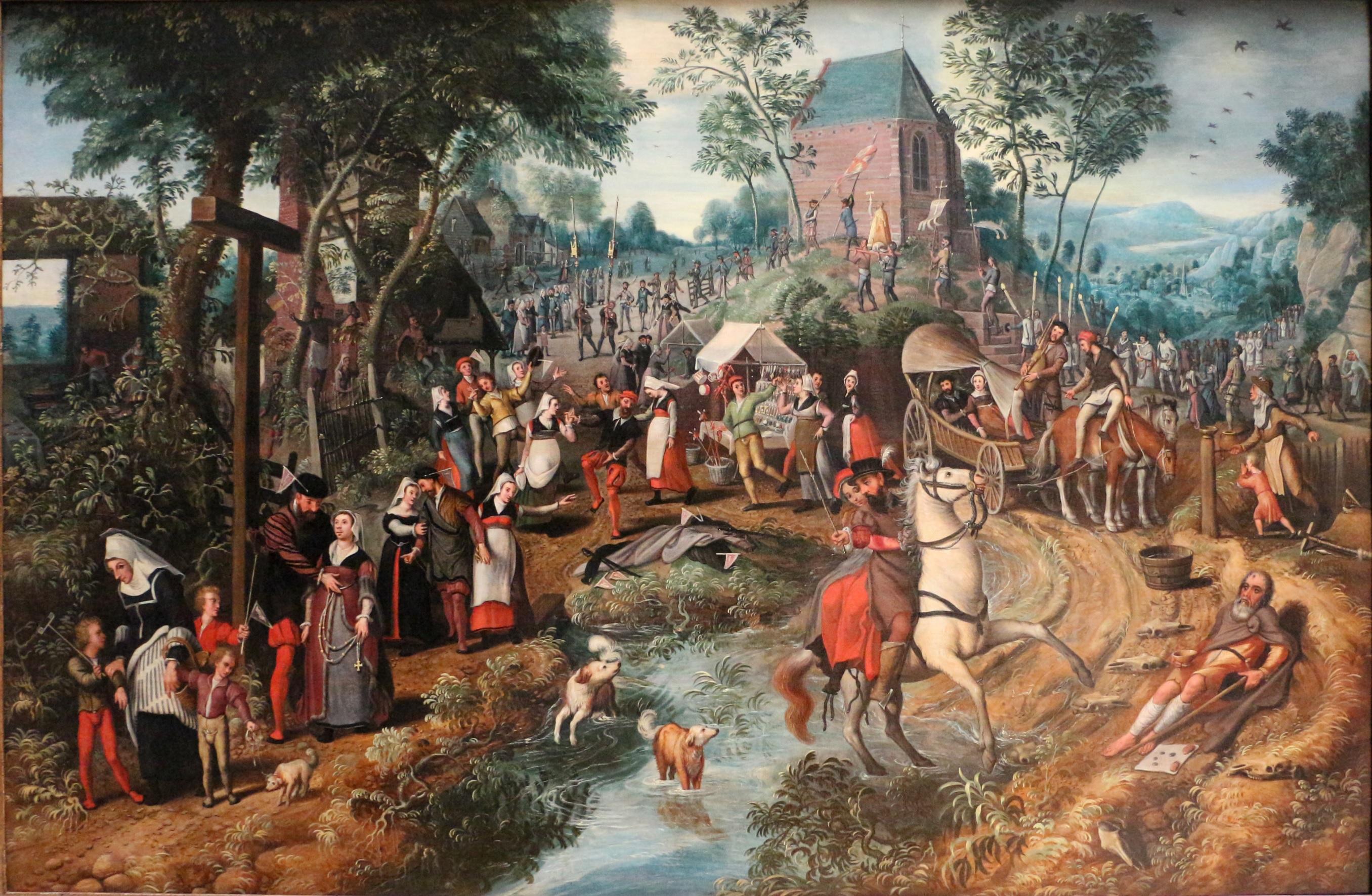 Pieter_aertsen,_ritorno_di_un_pellegrinaggio_a_sant'antonio 1555 BruxellesJPG
