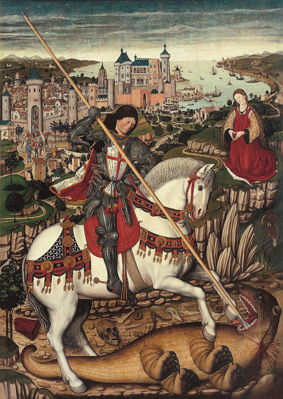 Sant_Jordi_Pere_Nicard 1470 Museu Diocesa de Mallorca