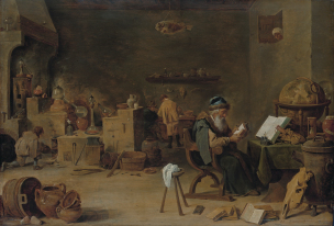 The alchemist, by David Teniers (II)