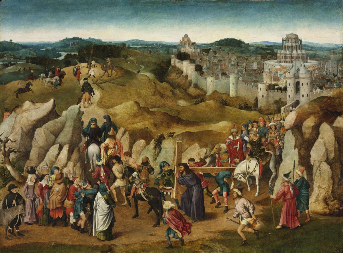 Van Eyck Portement Museum of Fine Arts, Budapest