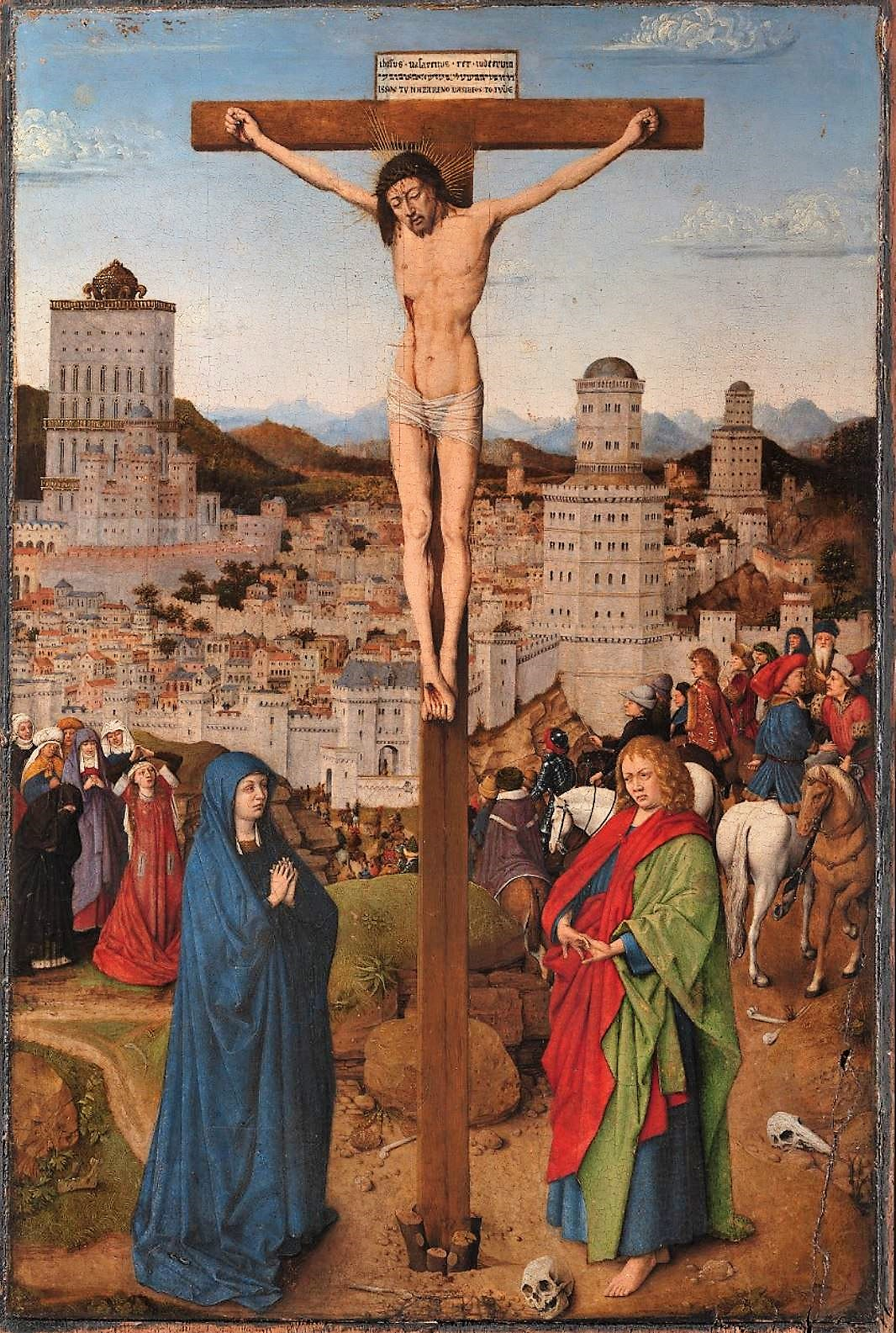 Van-Eyck-atelier-1440-50-Crucifixion-Ca-doro-Venise