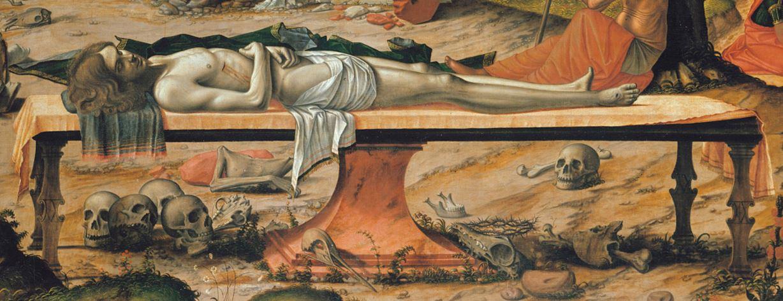 Vittore_Carpaccio_-_Preparation_of_Christ's_Tomb_-_Google_Art_Project (1505), Staatliche Museen, Berlin detail