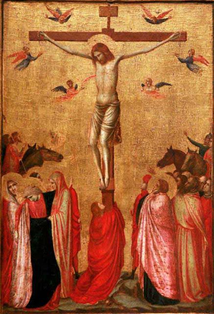 crucifixion Giotto Vers 1319 1320 musee des BA de Strasbourg