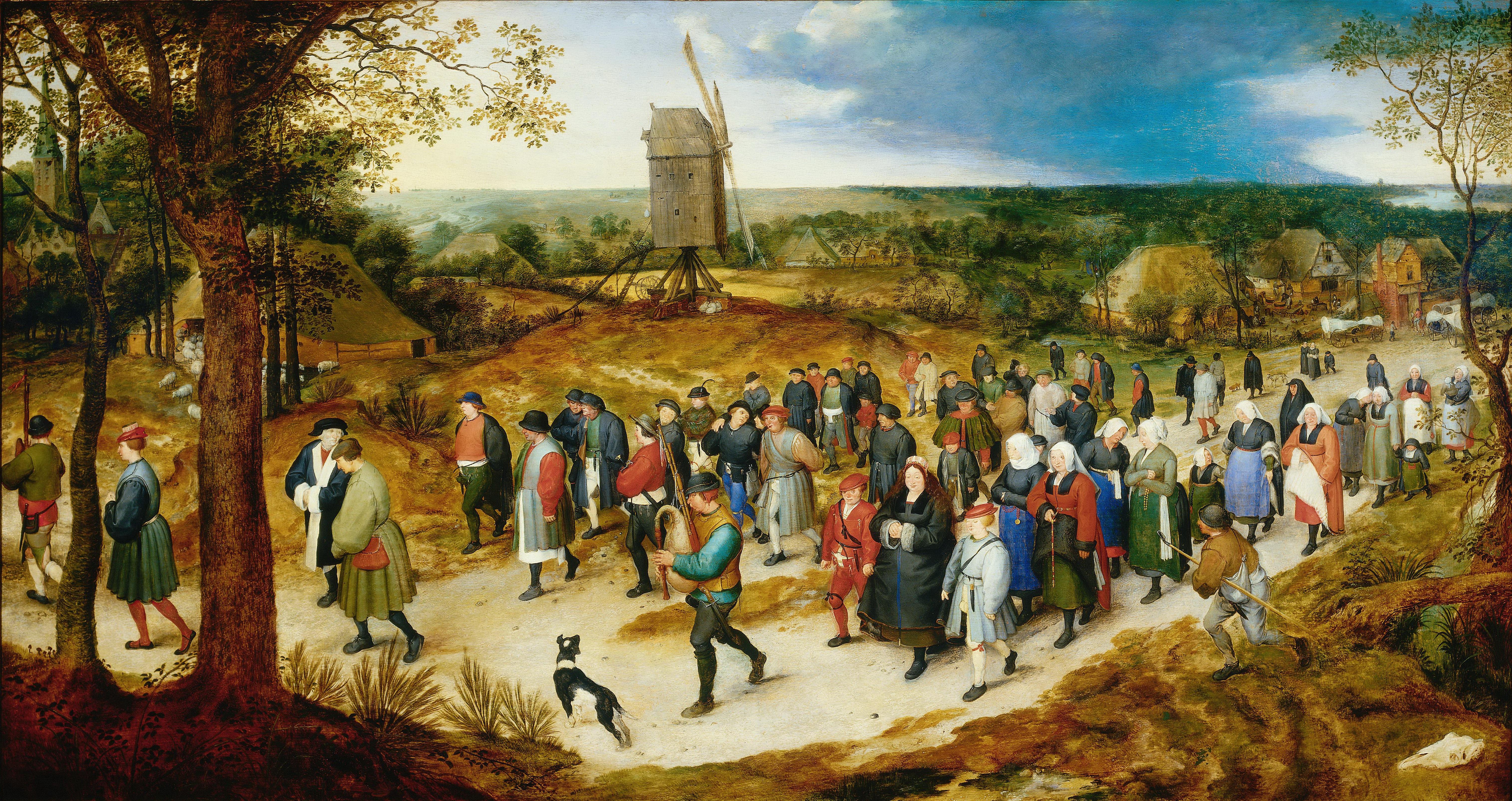 jan-brueghel-lancien-Le-Cortege-des-Noces-Musee-de-la-Ville-de-Bruxelles