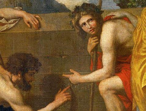 1599px-Nicolas_Poussin_-_Et_in_Arcadia_ego_(deuxième_version) centre