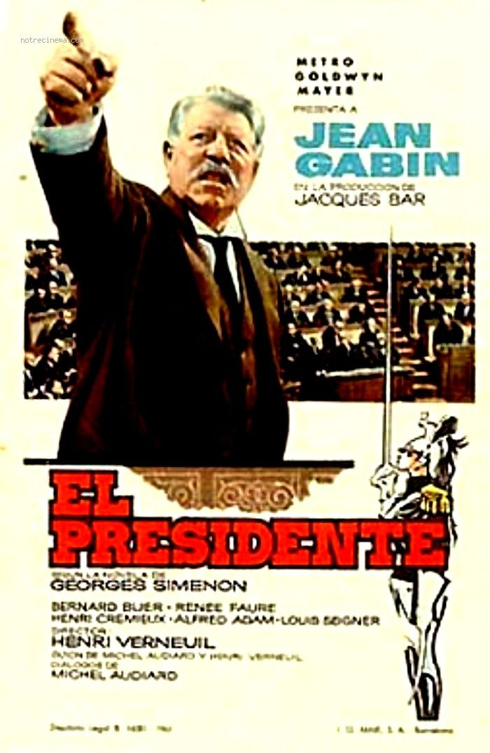 Affiche du film Le President Henri Verneuil 1961