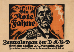 Allemagne 1921 Die rote Fahne 1