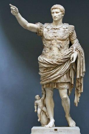 Auguste de Prima Porta, 20 avant JC Musees du Vatican