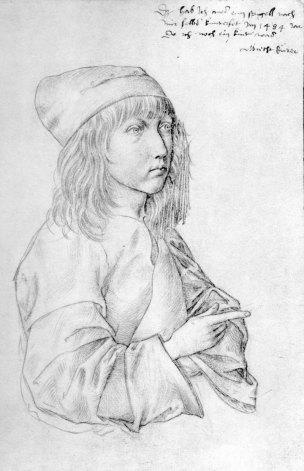 Dürer-autoportrait--enfant----2