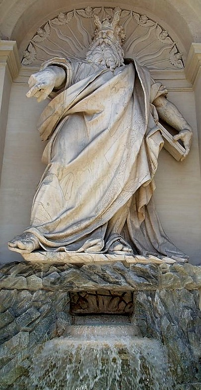 Domenico Fontana 1585-87 Fontaine Acqua_Felice_Roma