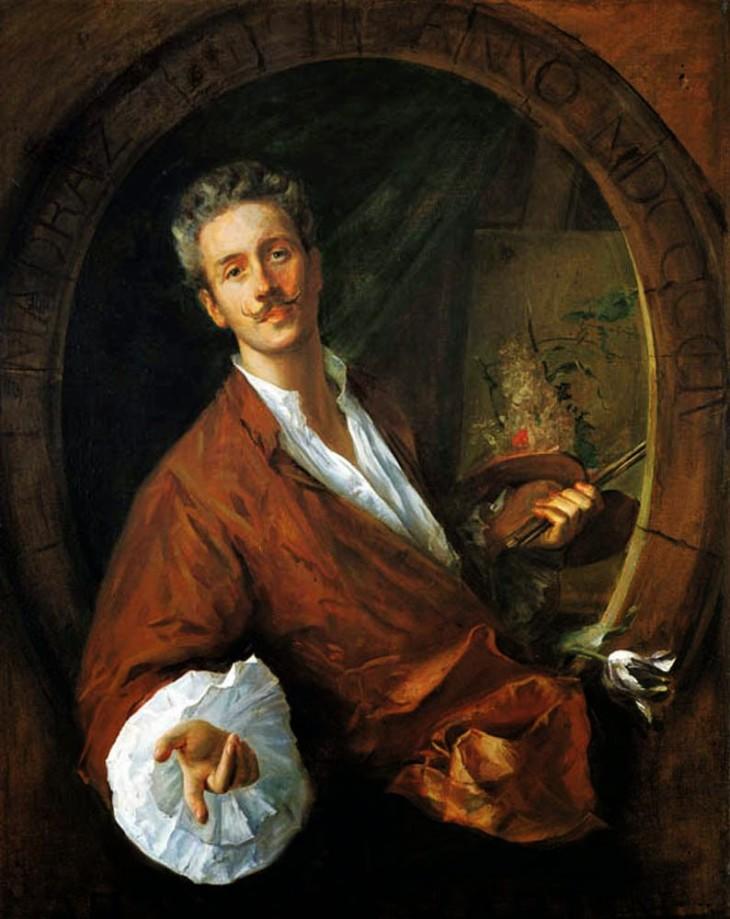 Federico Carlos de Madrazo y Ochoa portrait d'arthur-chaplin 1904 collection BBVA