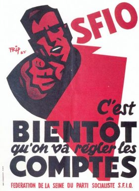 France 1956 SFIO Legislatives du 2 janvier 1956 bis