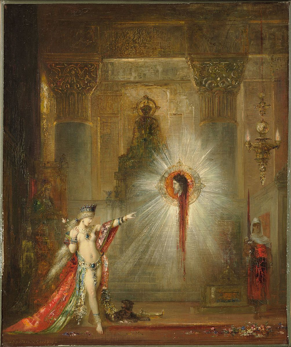 Gustave_Moreau_-_l'Apparition1876-77 Harvard Art Museum