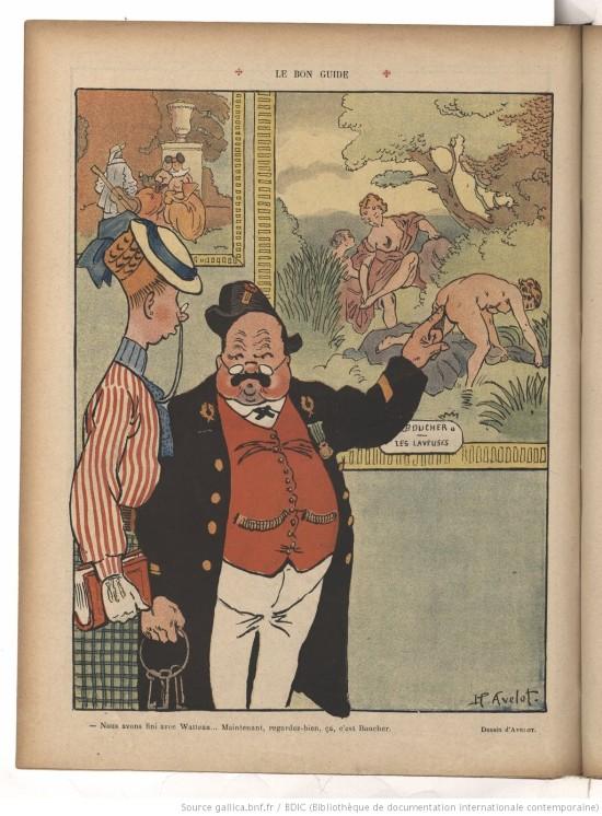 Henri Avelot Le Rire, 17 October 1908 Gallica