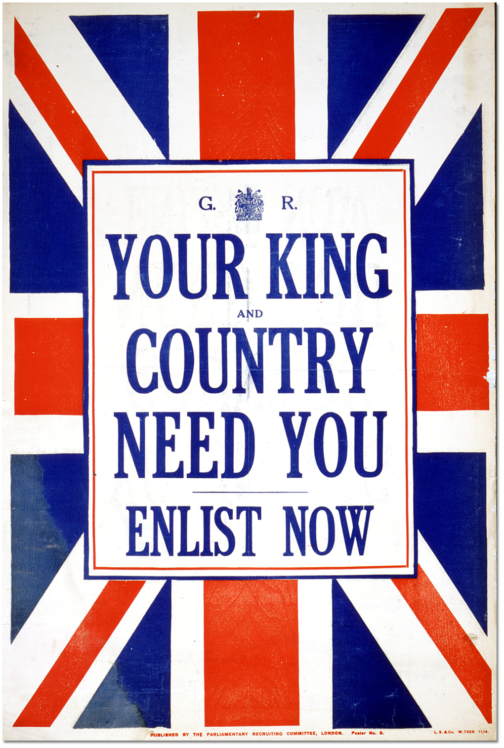 King_and_Country_Need_You 4 September 1914