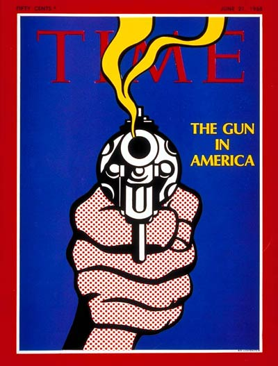 Lichtenstein, Roy The Gun in America June 21, 1968
