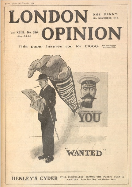 London opinion 14 nov 1914 football special