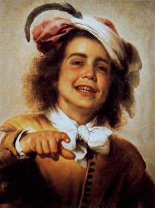 Murillo Enfant riant 1655-60 Coll privee